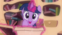 Twilight gets excited S03E13