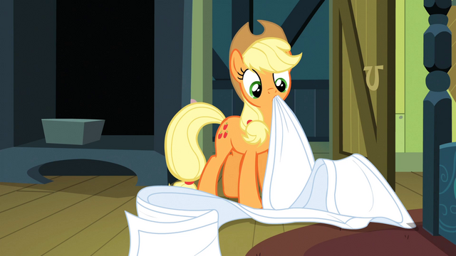 File:Applejack zoned out S3E4.png