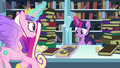 Cadance shows Twilight the book Trotter's Tome of Reliquary S6E2.png