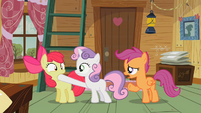 Cutie Mark Crusaders Apple Bloom is silenced S2E12