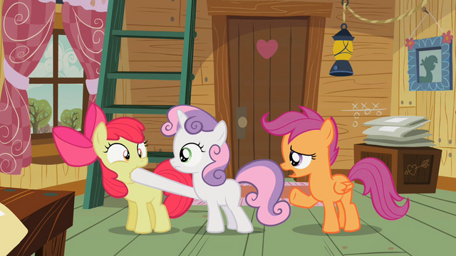 File:Cutie Mark Crusaders Apple Bloom is silenced S2E12.png