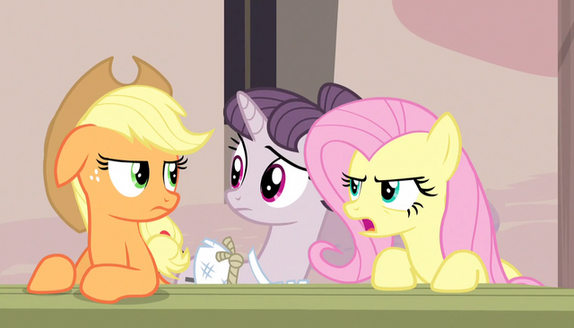 "File:Fluttershy ""almost as bad as Rainbow Dash"" S5E1.png"
