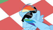 Rainbow Dash chillin' S02E03