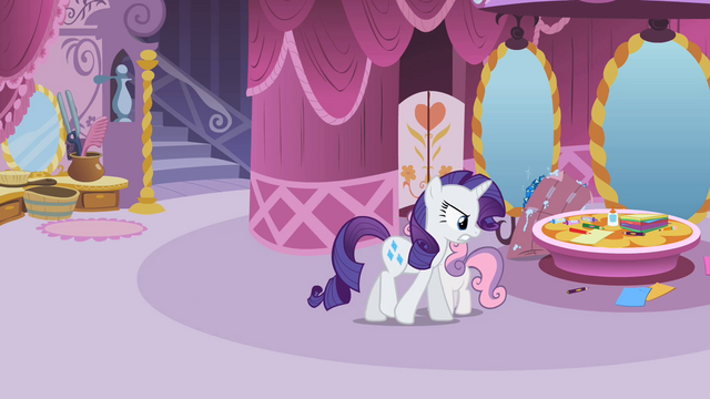 "File:Rarity ""Not what I meant"" S2E05.png"