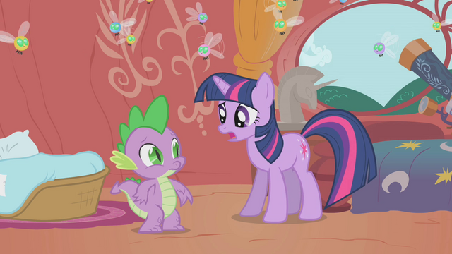 "File:Twilight ""the princess will be here in a few hours"" S1E10.png"