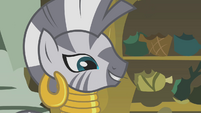 "Zecora ""its results are like a joke"" S1E09"