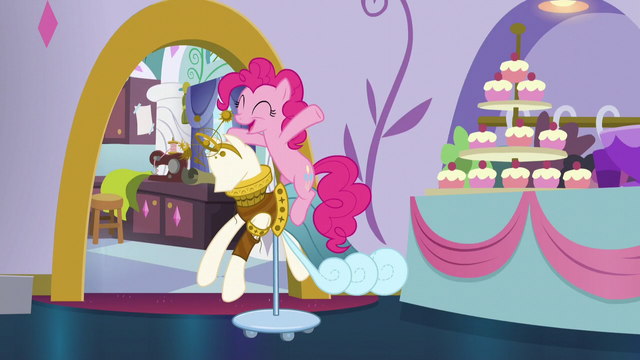 "File:Pinkie ""TLC stands for Tasty Liquorice Candy!"" S5E14.png"