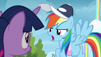"Rainbow Dash ""of course not!"" S6E24"