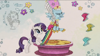 Rarity stops Rainbow from flying away RPBB3