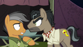 Dr. Caballeron glaring at Quibble Pants S6E13.png