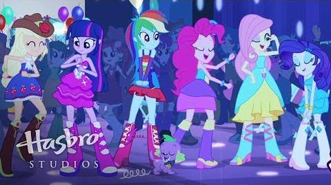 My Little Pony Equestria piger - Dette er vores store aften