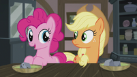 "Pinkie ""get to our Hearth's Warming dolls!"" S5E20"