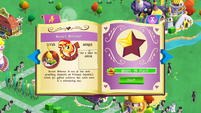 Sunset Shimmer album page MLP mobile game