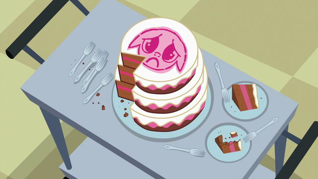 File:Cake for the sick foals partially eaten S7E3.png