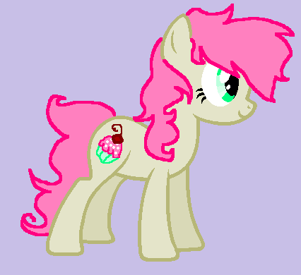 File:FANMADE Cupcake pony.png