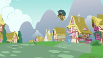 Nut cart goes flying toward Trixie S7E2
