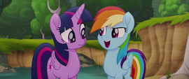 """Rainbow Dash """"we're in this together"""" MLPTM"""