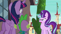 Starlight Glimmer about to use her magic S5E26