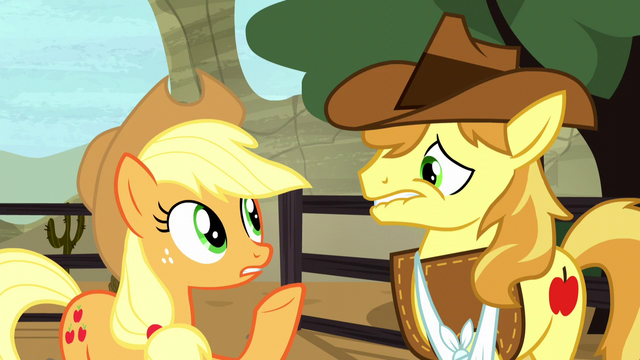 "File:Applejack ""how am I supposed to focus"" S5E6.png"