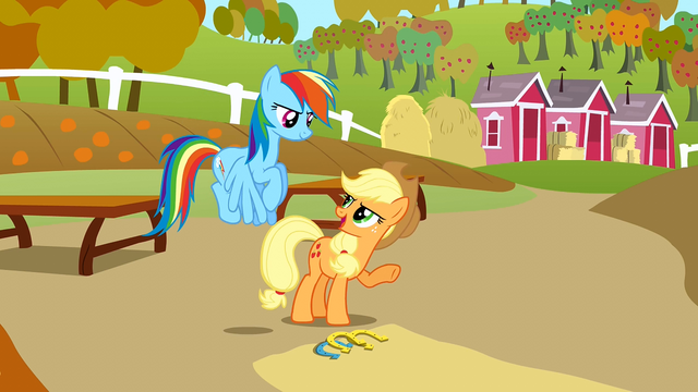 File:Applejack 'Not a bad pitch' S1E13.png