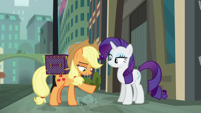 File:Applejack dusts herself off S5E16.png