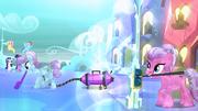 Crystal Pony vacuuming S03E12
