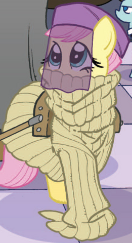 File:Micro-Series issue 4 Disguised Fluttershy.png