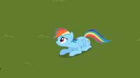 Rainbow Dash sad expression S2E8
