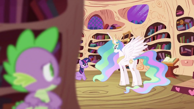 File:Twilight Sparkle talking to Princess Celestia S2E03.png