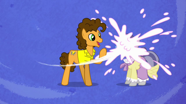 File:Cheese throws pie onto pony's face S4E12.png