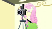 Fluttershy using a camera SS7