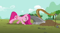 "Pinkie Pie ""plowing fields ain't such a hoot"" S03E13"