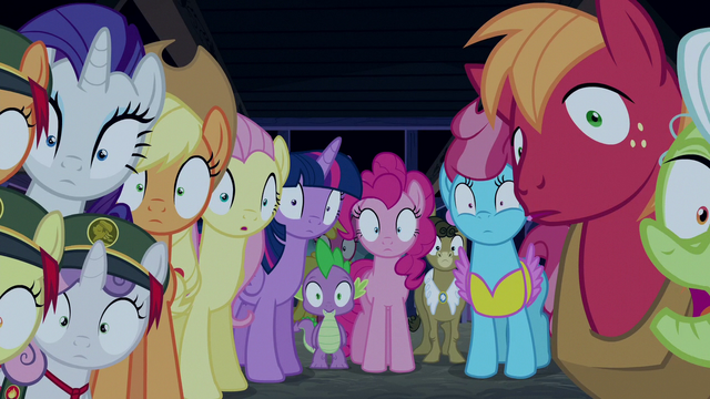 File:Ponyville ponies rendered speechless S6E15.png