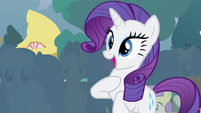 Rarity happy S4E13