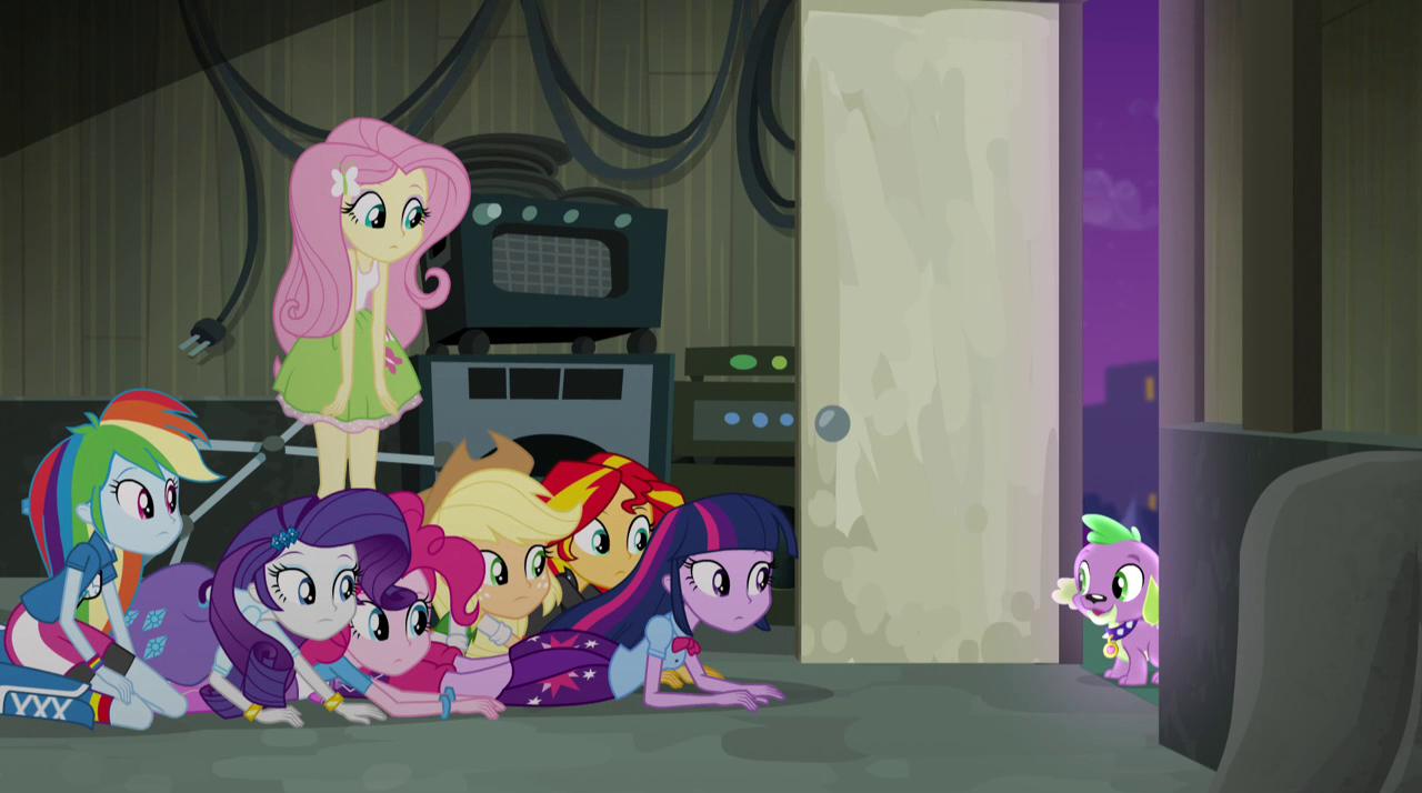Image spike at the door my little pony for My little magic door
