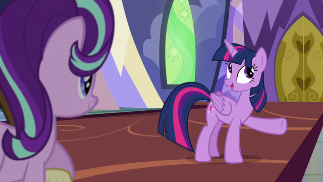 """File:Twilight Sparkle """"you've been doing them all day"""" S6E21.png"""