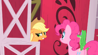 Applejack and Pinkie S01E25