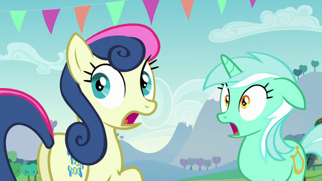 File:Lyra and Sweetie Drops shocked S5E24.png