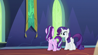 Starlight and Rarity having fun together S6E21