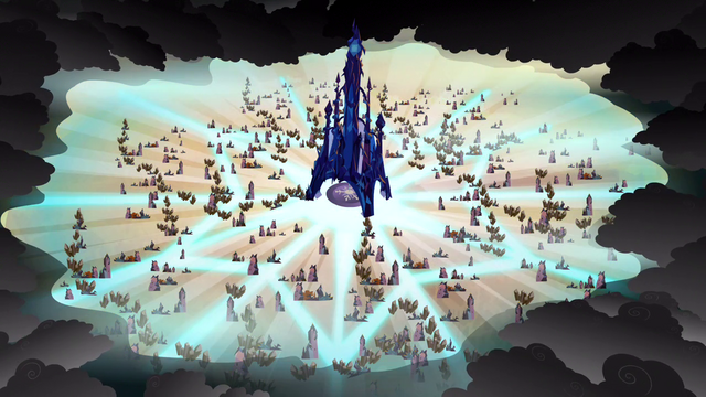 File:The Crystal Heart gathering the power of the Crystal Ponies S3E02.png