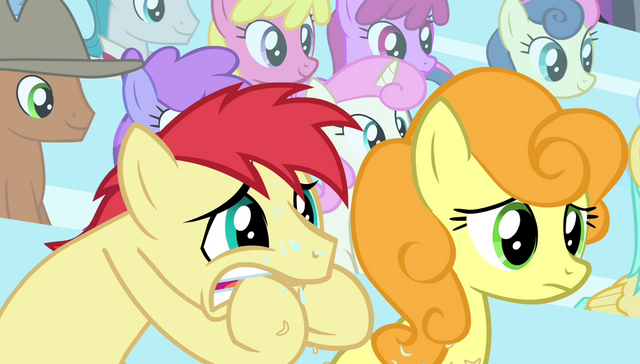 File:Earth pony stallion biting his hooves S4E24.png