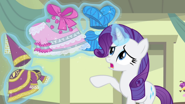 File:Rarity levitating the improved dresses S4E19.png