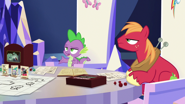 "File:Spike ""we only invited you to be nice"" S6E17.png"