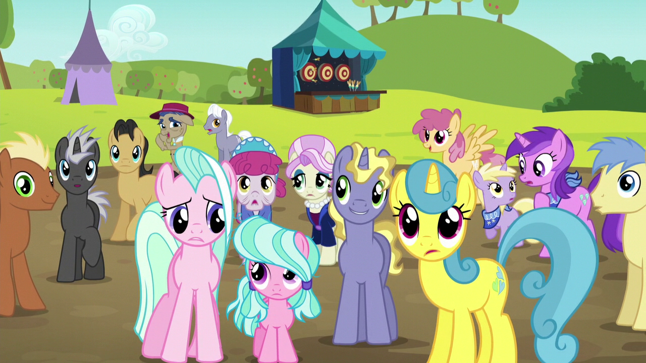 Image Crowd In Shock Second Half S5e17 Png My Little