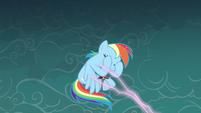 Rainbow Dash hold it in S3E5