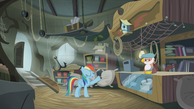 File:Rainbow tells the shopkeeper what she wants S5E8.png