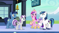 """Cadance """"the baby will need a pony like him to look to for magical advice"""" S6E2.png"""