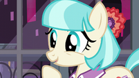 "Coco Pommel happy ""you will?"" S5E16"