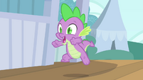 Spike cheering S4E14