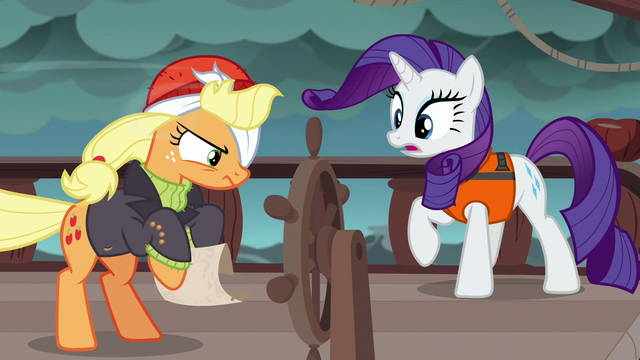 File:Applejack takes the map back from Rarity S6E22.png